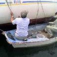 船底掃除のための船底掃除