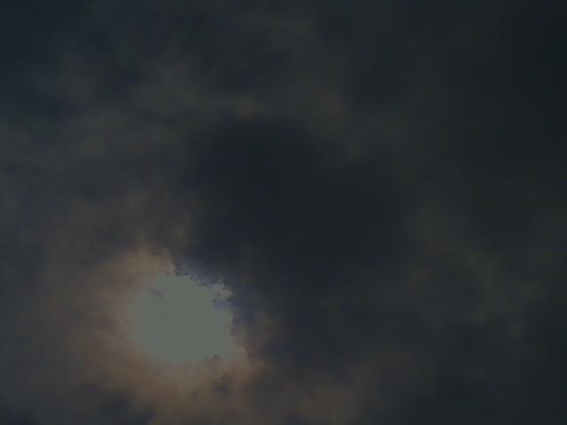 日食 in 瀬戸内海